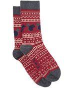 Hobbs Nw3 Squirrel Sock - Lyst