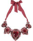 Lanvin Babylon Oversized Choker Necklace - Lyst