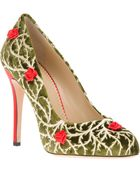 Charlotte Olympia Moss Pump - Lyst