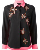Emma Cook Embroidered Star Blouse - Lyst