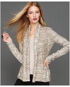 Inc International Concepts Marled Sequin Cardigan - Lyst