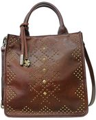 Lucky Brand Dover Leather Tote Bag - Lyst