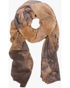 Willow Knows Crepe De Chine Scarf in Sky - Lyst
