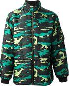 Jean Paul Gaultier Padded Camouflage Jacket - Lyst