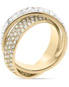 Michael Kors Baguette Band Intertwined Ring - Lyst