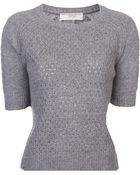 Vanessa Bruno Athé Crew Neck Sweater - Lyst
