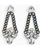 Nasty Gal Prina Earrings - Lyst