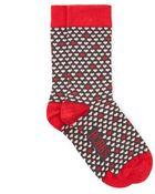 Hobbs Mini Heart Sock - Lyst