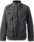 Barbour Military Jacket - Lyst