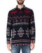 Ralph Lauren Fair Isle Patterned Shirt - Lyst