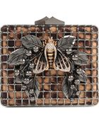 Roberto Cavalli Bumble Bee Clutch Bag - Lyst