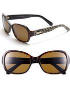 Kate Spade Akira 54mm Polarized Sunglasses - Lyst
