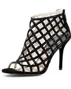 Michael Kors Crystallized Cage Bootie - Lyst