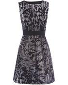 Karen Millen Beautiful Fur Print Prom Dress - Lyst