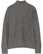 T By Alexander Wang Marled Knitted Sweater - Lyst