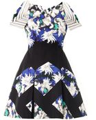 Peter Pilotto Tallulah Dahlia Printed Dress - Lyst