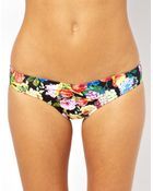 Seafolly Summer Garden Sweetheart Bikini Bottom - Lyst