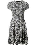 Proenza Schouler Printed Skater Dress - Lyst