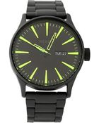 Nixon Black Sentry Watch - Lyst
