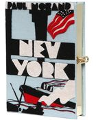 Olympia Le-Tan New York Book Clutch - Lyst