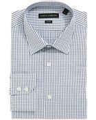Vince Camuto Checkered Dress Shirt - Lyst
