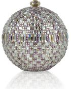 Judith Leiber Couture New Sphere Crystal Minaudiere Multicolor - Lyst