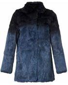 RED Valentino Dégradé Fur Jacket - Lyst