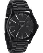 Nixon Sentry Ss Black Watch - Lyst
