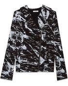 Helmut Lang Tera Print Sweatshirt - Lyst