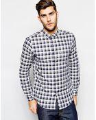 Ben Sherman Madras Check Shirt - Lyst