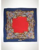 Ralph Lauren Silk Bridle-Patterned Scarf - Lyst