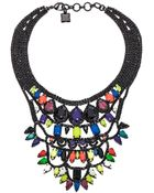 BCBGMAXAZRIA Pop Color Stone Necklace - Lyst