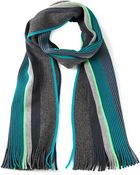 Paul Smith Twist Stripe Scarf - Lyst
