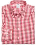 Brooks Brothers Non-Iron Regent Fit Gingham Sport Shirt - Lyst