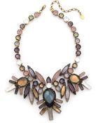Erickson Beamon Crystal Statement Necklace - Pastel Multi - Lyst
