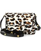 Marni Haircalf Triple Gusset Shoulder Bag - Lyst
