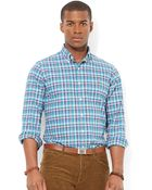 Polo Ralph Lauren Classic-Fit Plaid Oxford Shirt - Lyst