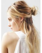 Free People Ear Cuff To Hair Chain - Lyst