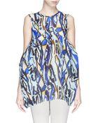 Ellery 'Noelle' Oversize Silk Organza Bubble Top - Lyst