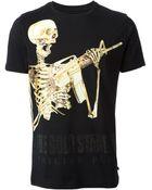 Philipp Plein The Gold Standard T-shirt - Lyst
