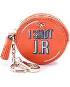 Anya Hindmarch I Shot Jr Coin Purse - Clementine - Lyst