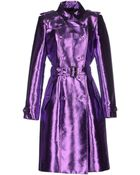 Burberry Prorsum Full-Length Jacket - Lyst