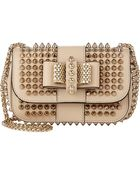 Christian Louboutin Spiked Sweety Charity Crossbody - Lyst