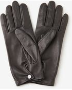 Agnelle Short Leather Glove - Lyst