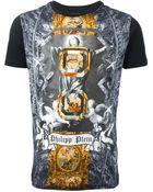 Philipp Plein Mixed Print Tshirt - Lyst