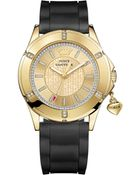 Juicy Couture Women'S Rich Girl Black Silicone Strap Watch 41Mm 1901196 - Lyst