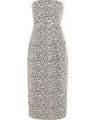 Zero + Maria Cornejo Biri Strapless Jacquard Dress - Lyst