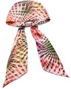 Eugenia Kim Gigi Headwrap - Pink/Green - Lyst