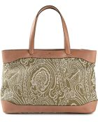 Etro Paisley Print Canvas Tote - Lyst