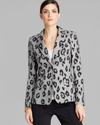 ESCADA Blazer - Mini Check Leopard - Lyst